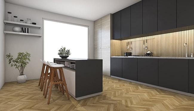 3 ways to combine dark cabinets with dark countertops